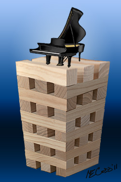 blocks and piano illustration