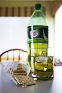 Ginger Ale and Crackers for Musical Bellyaching